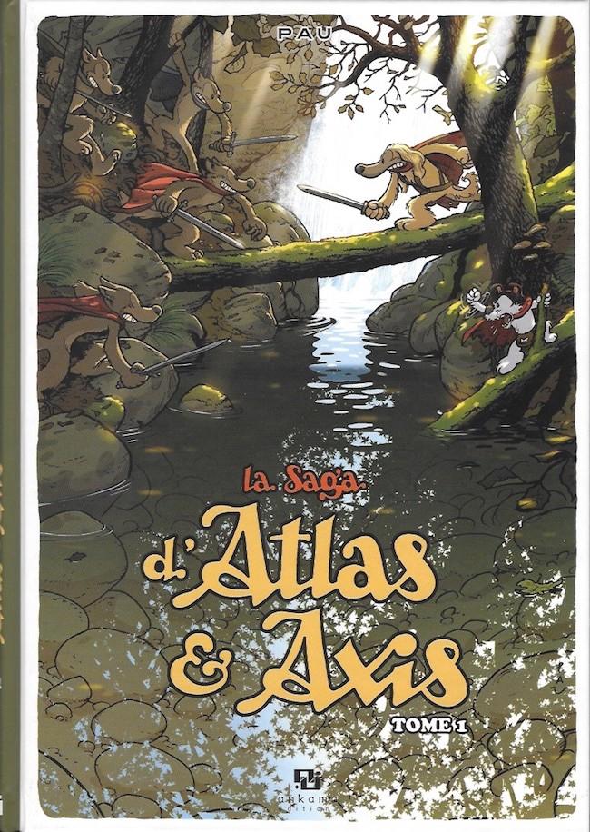 Couverture de La saga d'Atlas & Axis -1- Tome 1