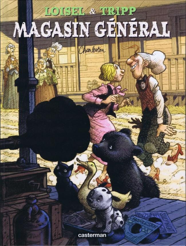 Couverture de Magasin général -7- Charleston