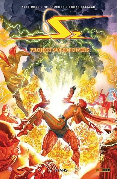 Couverture de Project superpowers  -4- Titans