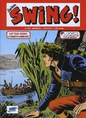 Couverture de Capt'ain Swing! (2e série - Mon Journal) -206- La tragédie de la Numok River