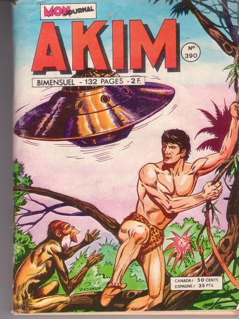 Couverture de Akim (1re série) -390- L'extra-terrestre