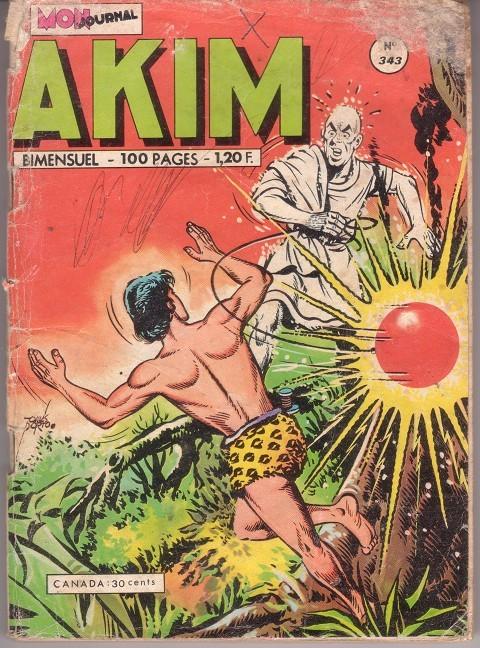 Couverture de Akim (1re série) -343- Le secret des secrets