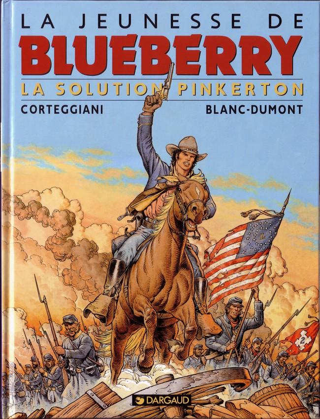 Couverture de Blueberry (La Jeunesse de) -10- La solution Pinkerton
