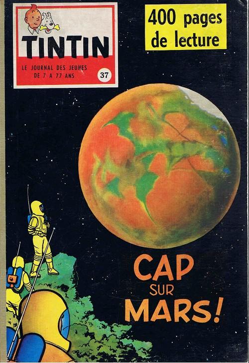 Couverture de (Recueil) Tintin (Album du journal - Édition française) -37- Tintin album du journal