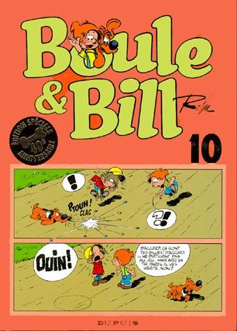 Couverture de Boule et Bill -02- (Édition actuelle) -10- Boule & Bill 10