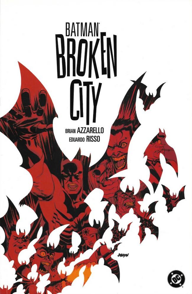 Couverture de Batman (1940) -INT- Broken City