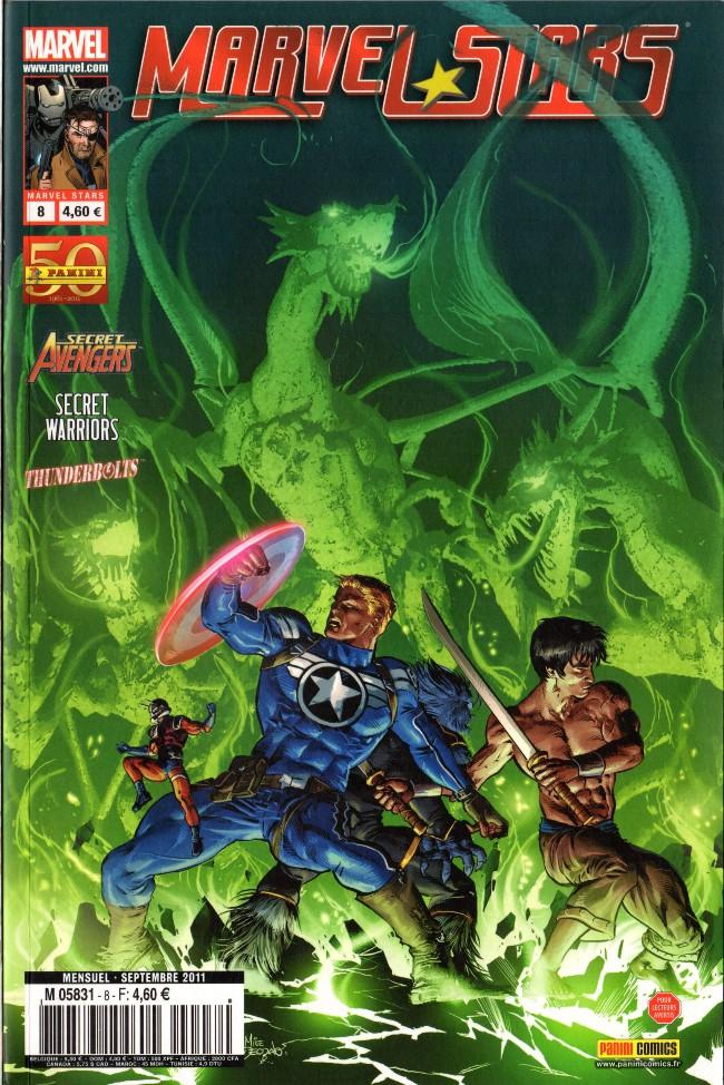 Couverture de Marvel Stars -8- Renaissance