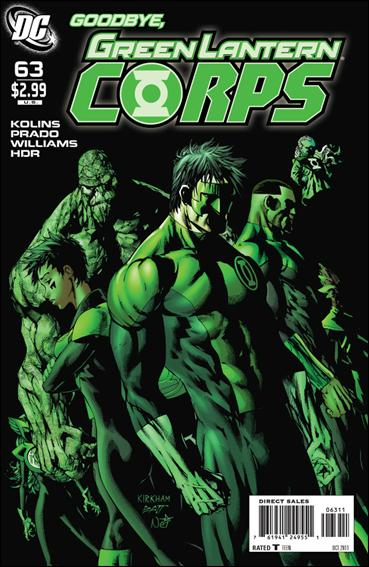 Couverture de Green Lantern Corps (2006) -63- Now and forever
