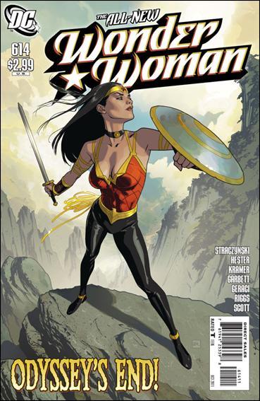 Couverture de Wonder Woman Vol.1 (DC Comics - 1942) -614- Odyssey part 14 : the return