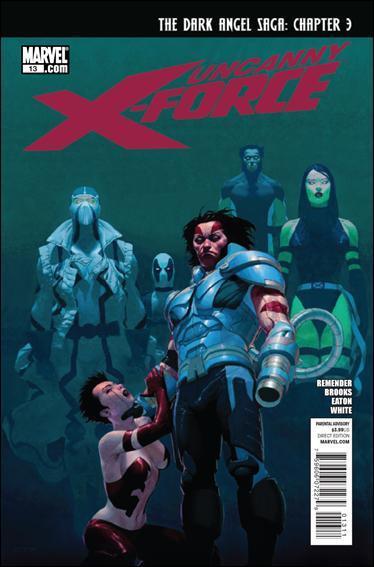 Couverture de Uncanny X-Force (2010) -13- Dark Angel saga part 3 : my world won't stop without you