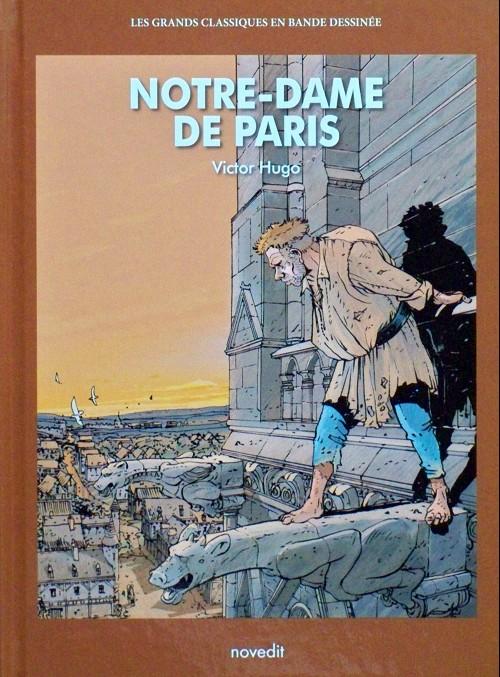 Couverture de Les grands Classiques en bande dessinée - Notre-Dame de Paris