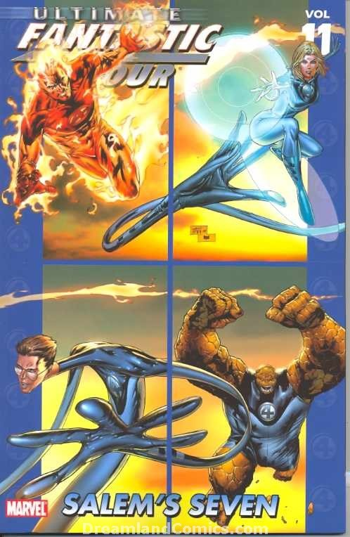 Couverture de Ultimate Fantastic Four (2004) -INT11- Salem's Seven