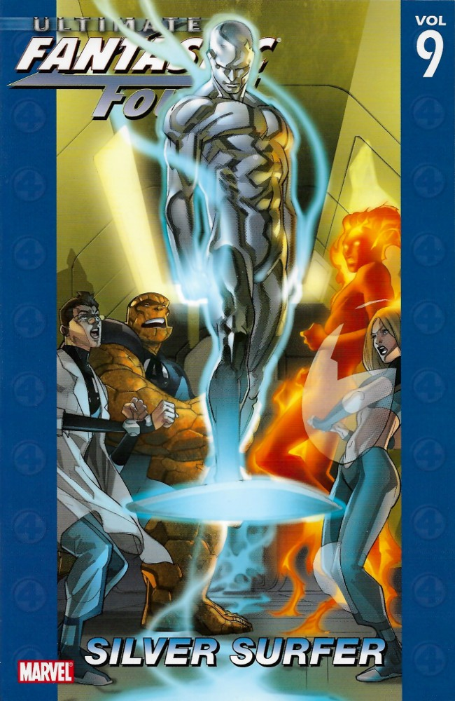 Couverture de Ultimate Fantastic Four (2004) -INT09- Silver Surfer