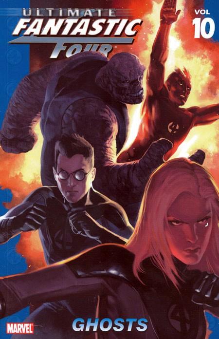 Couverture de Ultimate Fantastic Four (2004) -INT10- Ghosts