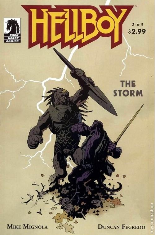 Couverture de Hellboy (1994) -48- The storm 2