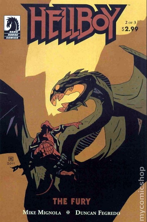 Couverture de Hellboy (1994) -56- The fury 2