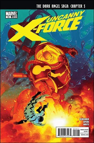 Couverture de Uncanny X-Force (2010) -15- Dark angel saga part 5 : Tabula rasa