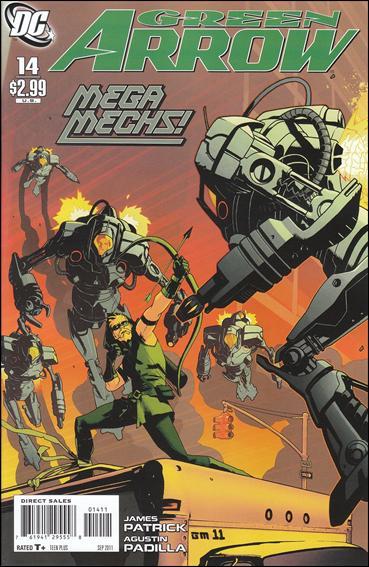 Couverture de Green Arrow (2010) -14- Manhunt