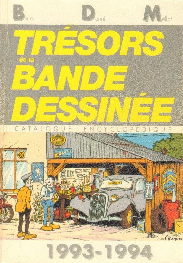 Couverture de (DOC) BDM -9- Trésors de la Bande Dessinée 1993-1994