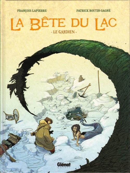 Couverture de La bête du Lac (Le Mangeur d'Âmes) -1- Le gardien