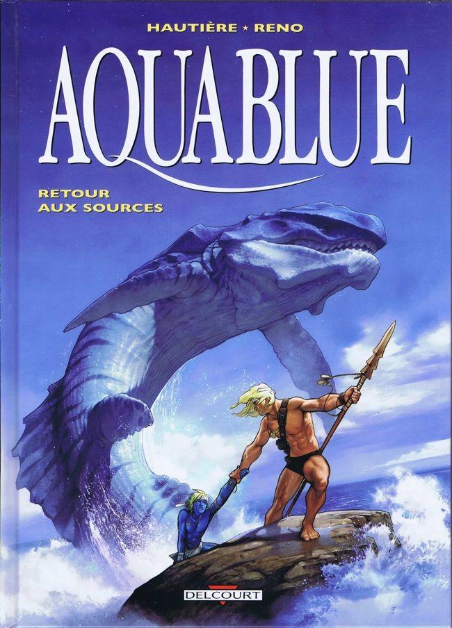 Couverture de Aquablue -12- Retour aux sources
