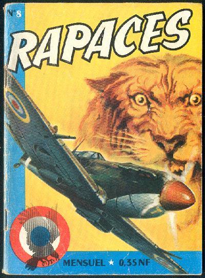 Couverture de Rapaces (Impéria) -8- Hurricanes 2/2 - Bataille sans fin 1/2
