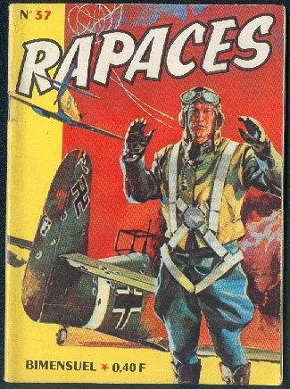 Couverture de Rapaces (Impéria) -37- Pilote d'essai 2/2 - Ciel dangereux 1/2