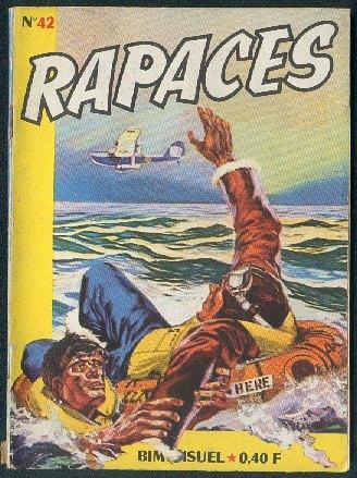 Couverture de Rapaces (Impéria) -42- Tactique d'évasion 2/2 - Heures sombres 1/2