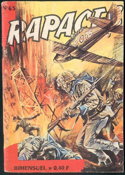 Couverture de Rapaces (Impéria) -63- Alerte aux Skuas