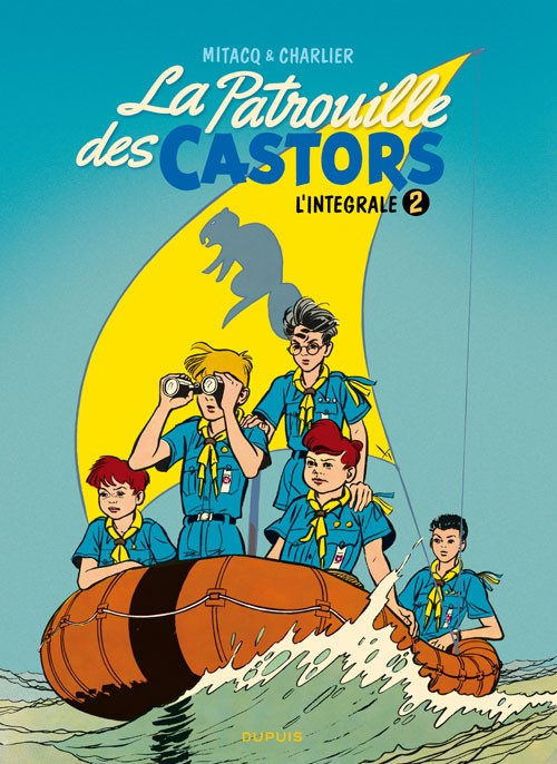 Couverture de La patrouille des Castors -INT2- L'intégrale 2 (1957-1960)