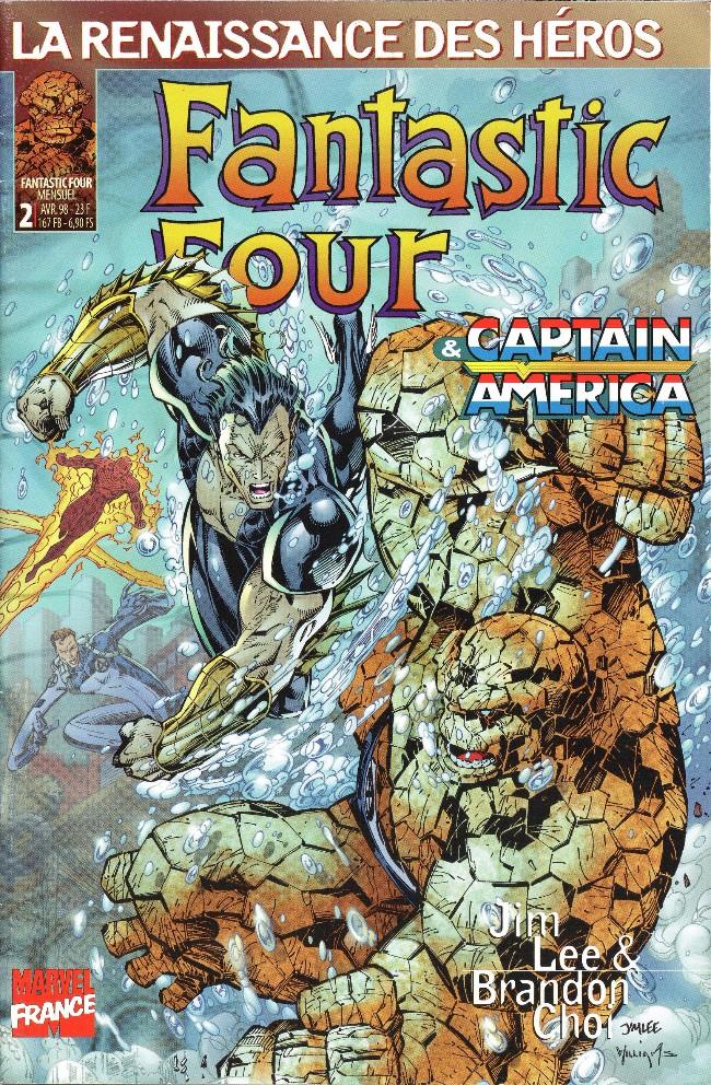 Couverture de Fantastic Four (Renaissance des héros) -2- Fantastic Four 2