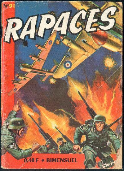 Couverture de Rapaces (Impéria) -91- L'escadrille de la chance