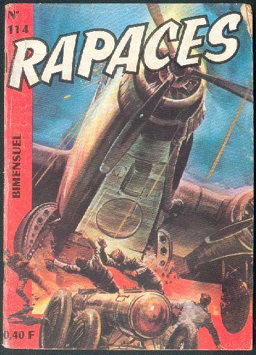 Couverture de Rapaces (Impéria) -114- Les vengeurs