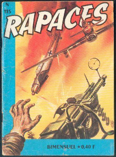 Couverture de Rapaces (Impéria) -115- La 60e mission
