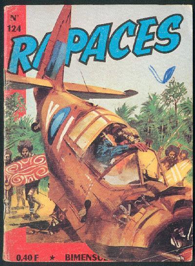 Couverture de Rapaces (Impéria) -124- Fusées éclairantes