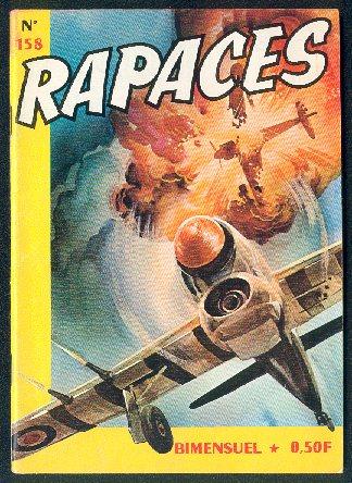 Couverture de Rapaces (Impéria) -158- Tragique adieu