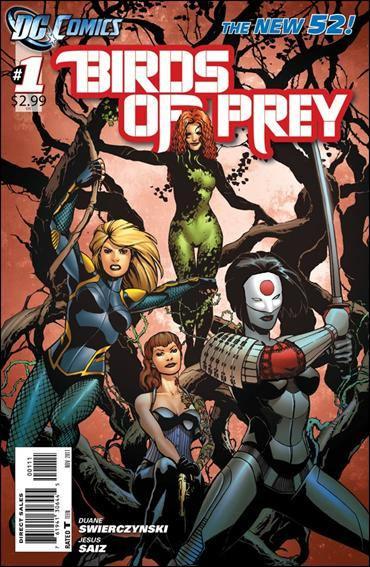 Couverture de Birds of Prey (2011) -1- Let us prey