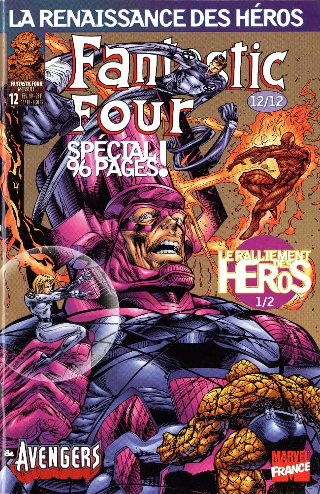 Couverture de Fantastic Four (Renaissance des héros) -12- Fantastic Four 12