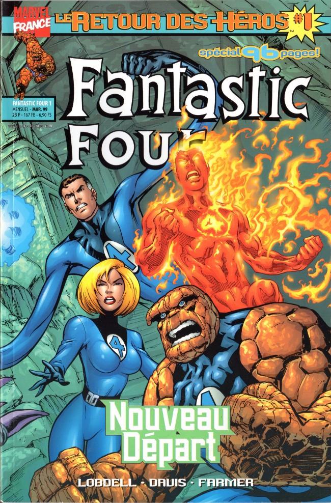 Couverture de Fantastic Four (Retour des héros) -1- Nouveau départ