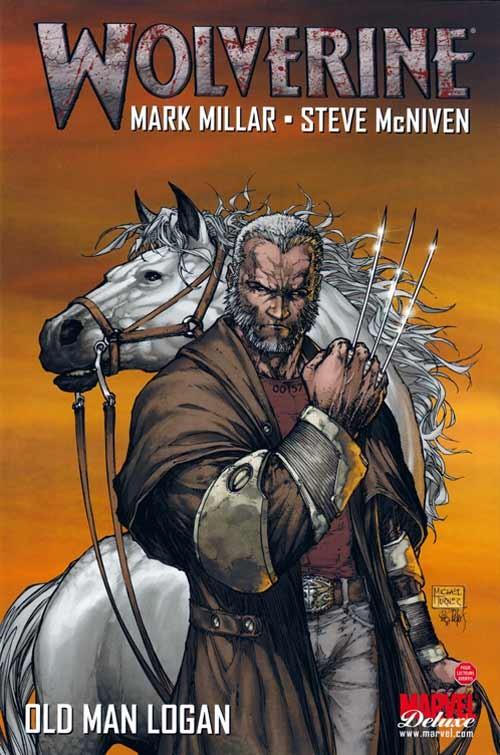 Couverture de Wolverine - Old Man Logan