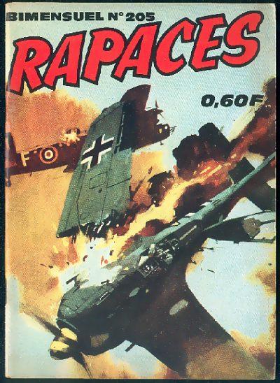 Couverture de Rapaces (Impéria) -205- Spitfire rivaux