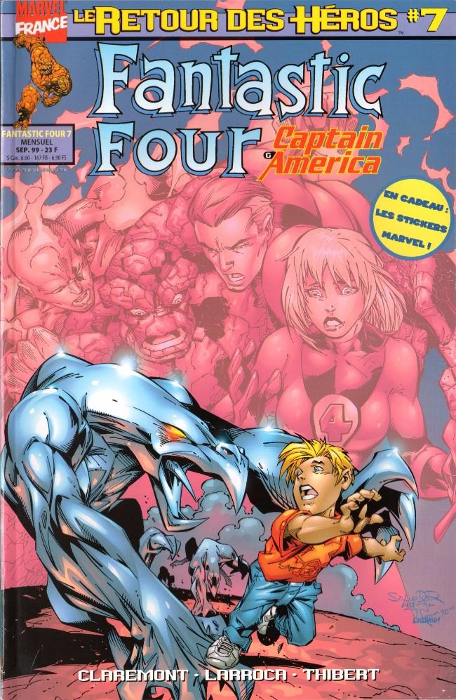 Couverture de Fantastic Four (Retour des héros) -7- Jane se déchaîne