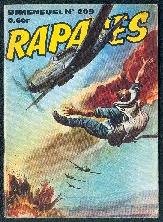 Couverture de Rapaces (Impéria) -209- Atterrissage forcé - Sables brûlants