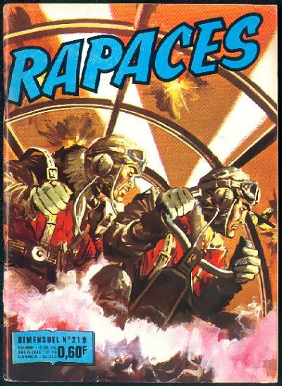 Couverture de Rapaces (Impéria) -219- Le frénétique