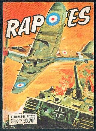 Couverture de Rapaces (Impéria) -222- Escadrille spéciale
