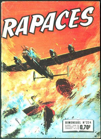 Couverture de Rapaces (Impéria) -224- Réhabilitation - Vocation - Le naufragé de l'espace - Le clown
