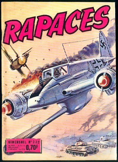 Couverture de Rapaces (Impéria) -232- Les chasseurs - La peur - La mascotte
