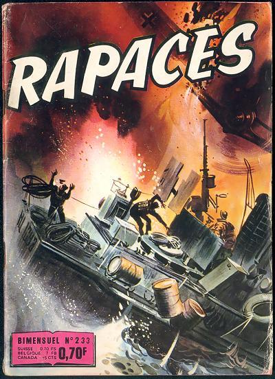Couverture de Rapaces (Impéria) -233- Pas de capitulation - Contre toutes chances - Le dernier mot