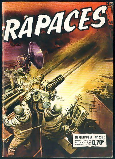 Couverture de Rapaces (Impéria) -235- Épitaphe pour un héros - La cible - L'adieu