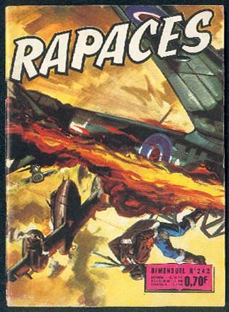 Couverture de Rapaces (Impéria) -242- Le dernier - Faux atterrissage - Cinq as